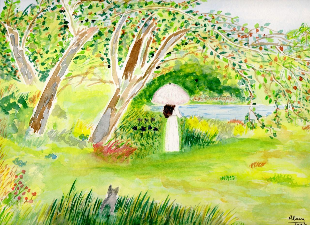 32 jardin anglais for Jardin anglais guingamp